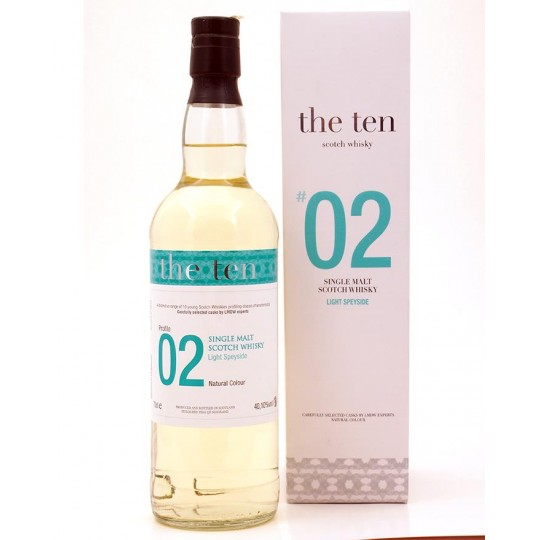 The Ten 2005 No 02 Single Malt - 70 cl.