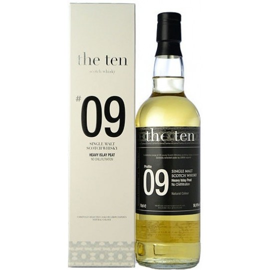 The Ten 2007 No 9 Single Malt -70 cl.