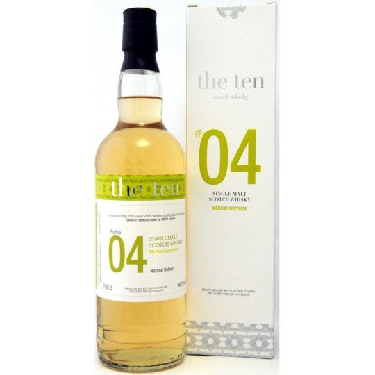 The Ten 2002 No 04 Single Malt - 70 cl.