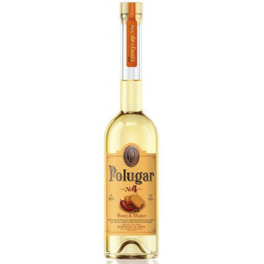 Polugar No 4 Honey & Allspice Vodka, Polonia - 50 cl.
