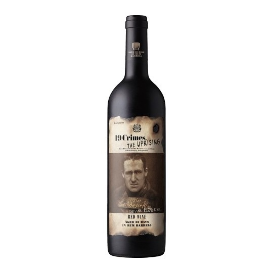 19 Crimes The Uprising Red Wine 2019, Australia - 75 cl.