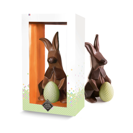 Michel Cluizel Lapin Origami - 130 gr.