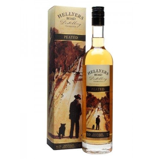 Hellyers Road Single Malt Whisky Peated - 70 cl.