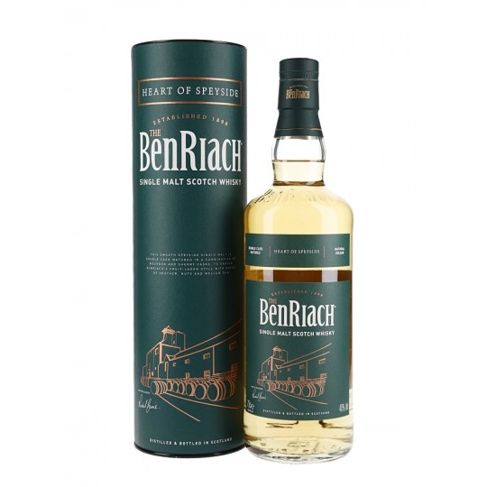 The BenRiach, Single Malt Scotch Whisky, Regatul Unit -70 cl