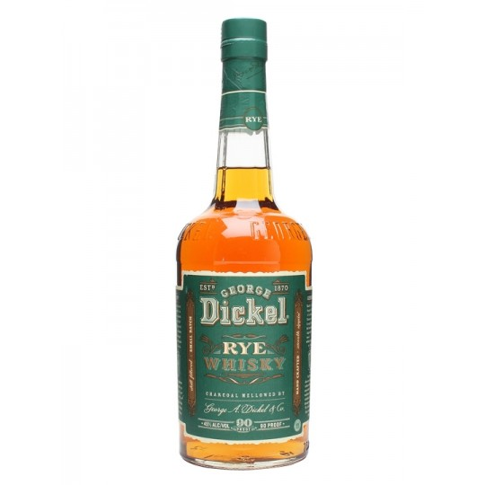 George Dickel Rye Whisky - 100 cl.