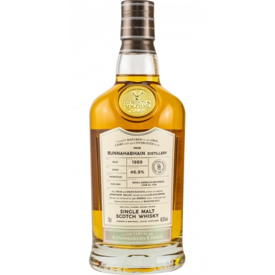 Gordon & Macphail 30 ani, Bunnahabhain Distillery, Single Malt Scotch Whisky, Regatul Unit- 70 cl