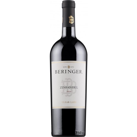 Beringer Clear Lake Zinfandel 2012, California, SUA - 75 cl.