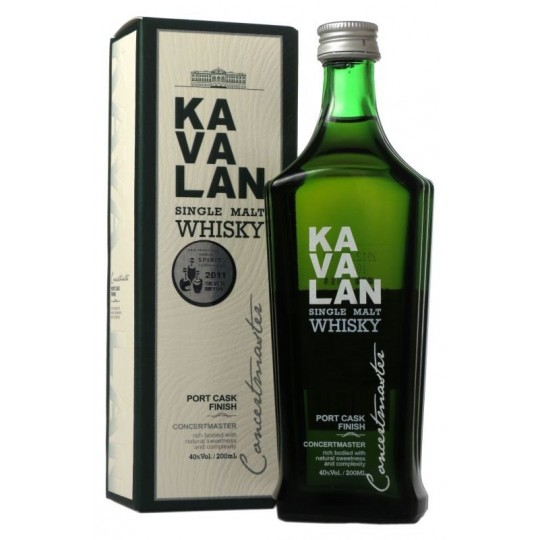 Kavalan Concertmaster Single Malt Whisky - 70 cl.