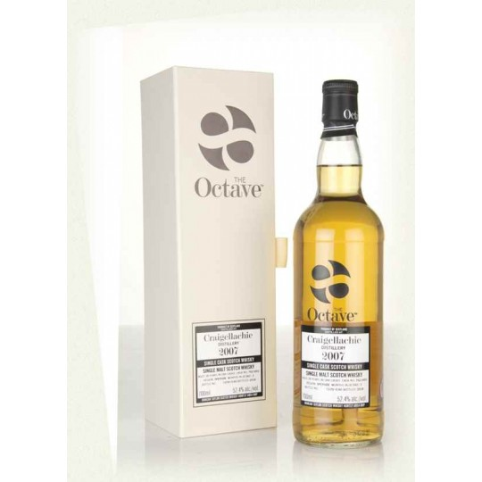 The Octave 2007, Craigellachie Distillery, Single Malt Scotch Whisky, Regatul Unit- 70 cl
