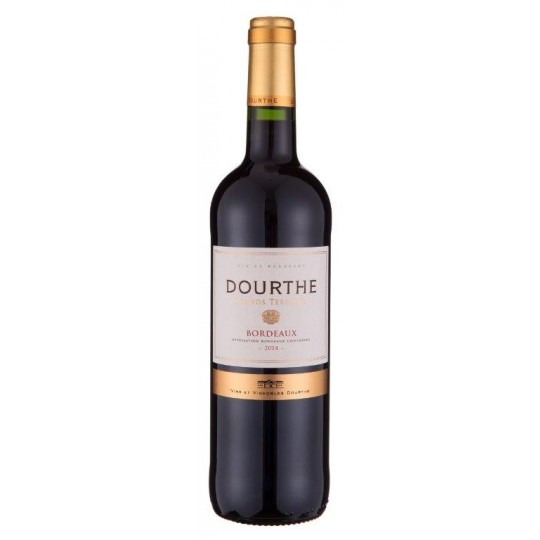 Dourthe Grands Terroirs Bordeaux Rouge 2016 AOC, Bordeaux, Franța - 75 cl