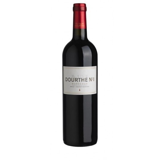 Dourthe No 1 Rouge 2015, AOC Bordeaux, Franţa - 75 cl.