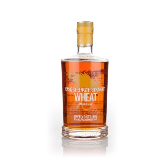 Dry Fly Distilling Cask Strength Wheat Whiskey, Washington, USA - 70 cl.