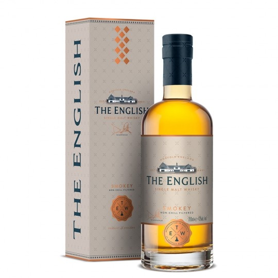 The English, Smokey Non-Chill Filtered, Single Malt Scotch Whisky, Regatul Unit- 70 cl