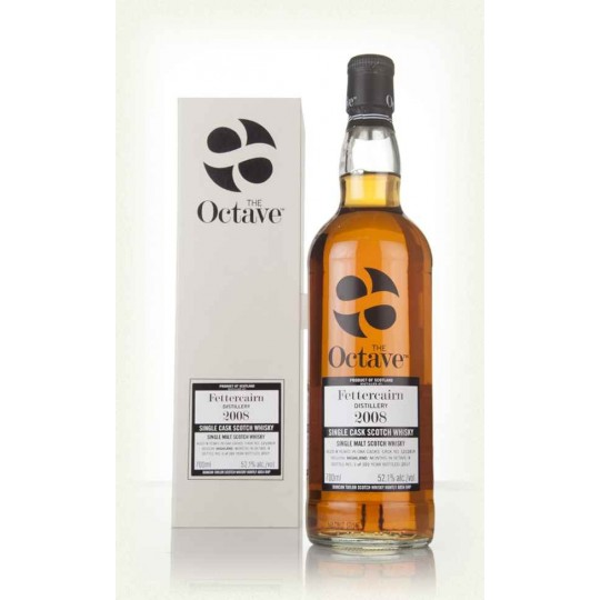 The Octave 2008, Fettercairn Distillery, Single Malt Scotch Whisky, Regatul Unit- 70 cl