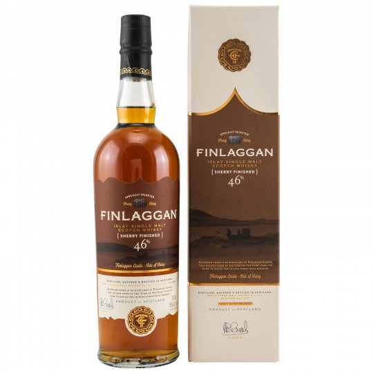 Finlaggan  Sherry Finished, Islay Single Malt Scotch Whisky, Regatul Unit -70 cl
