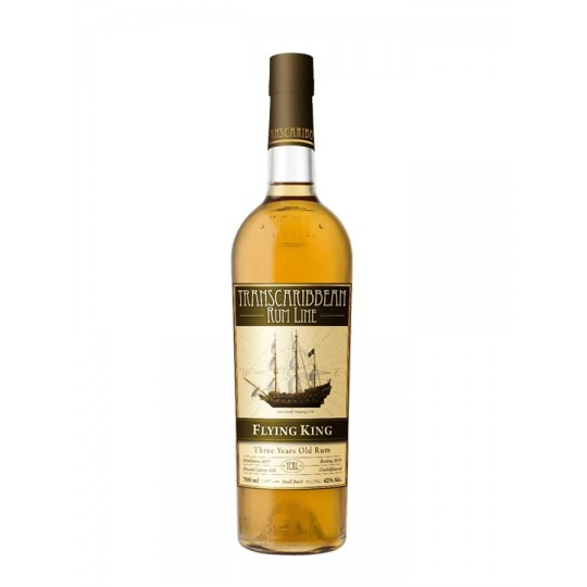 Flying King Rum 3 ani, Transcaribbean Rum Line, Jamaica şi Republica Dominicană - 70 cl.