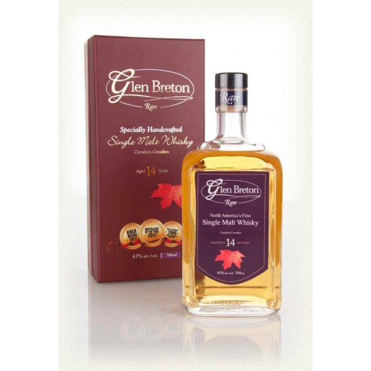 Glen Breton Rare 14 Years Single Malt, Canada - 70 cl.