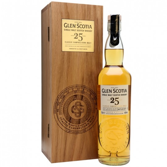Glen Scotia 25 ani, Single Malt Scotch Whisky, Regatul Unit- 70 cl
