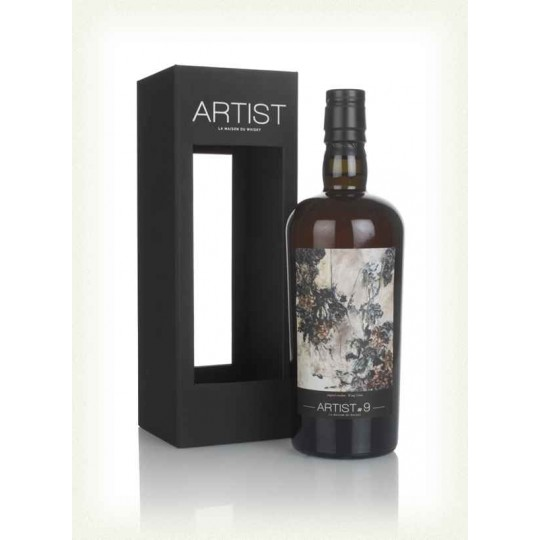 Artist # 9, 20 ani, Glenburgie Distillery, Speyside Single Malt Scotch Whisky, Regatul Unit- 70 cl