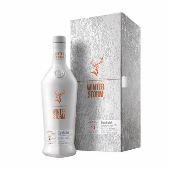 Glenfiddich 21 ani, Winter Storm, Icewine Cask Finish, Single Malt Scotch Whisky, Regatul Unit- 70 cl
