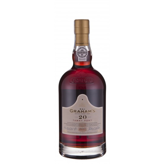 Graham's 20 Years Old Tawny Port, Oporto, Portugalia - 75 cl.
