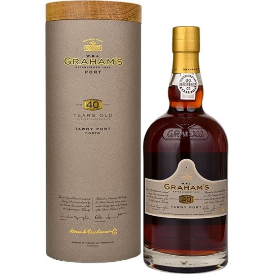 Graham's 40 YO Port Wine, Oporto, Portugalia - 70 cl.