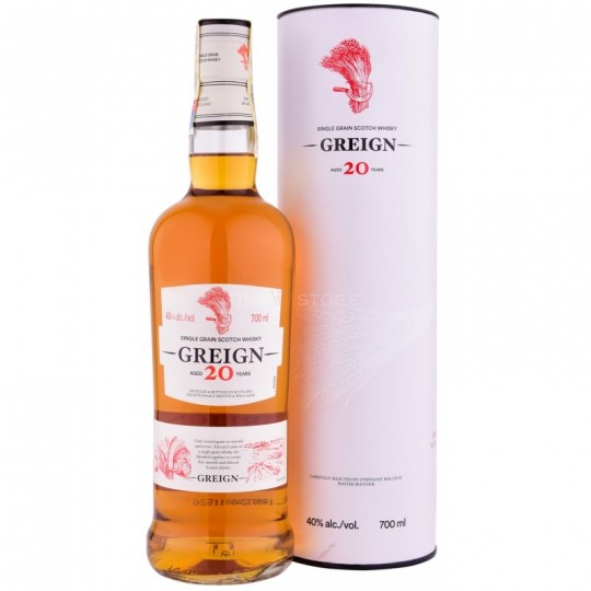 Greign 20 ani, Single Grain Scotch Whisky, Regatul Unit -70 cl