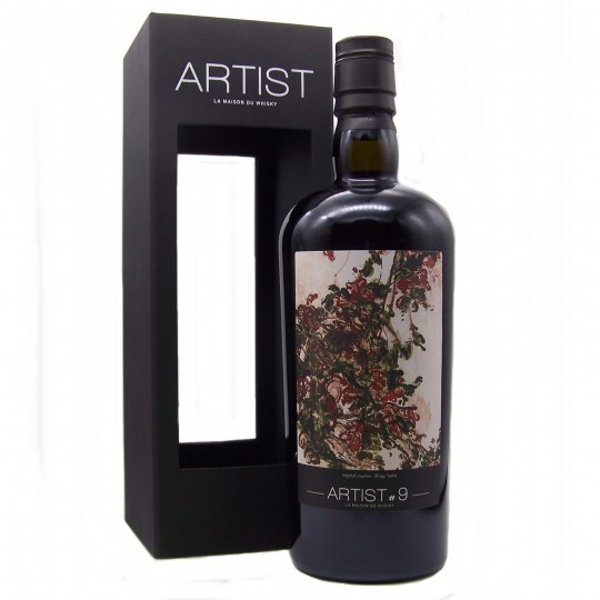 Artist # 9, 10 ani, Edradour Distillery, Single Malt Scotch Whisky, Regatul Unit- 70 cl