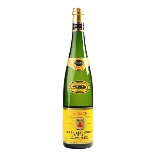 Hugel Cuvee Les Amours Pinot Blanc 2016 AOC, Alsace, Franța - 75 cl.