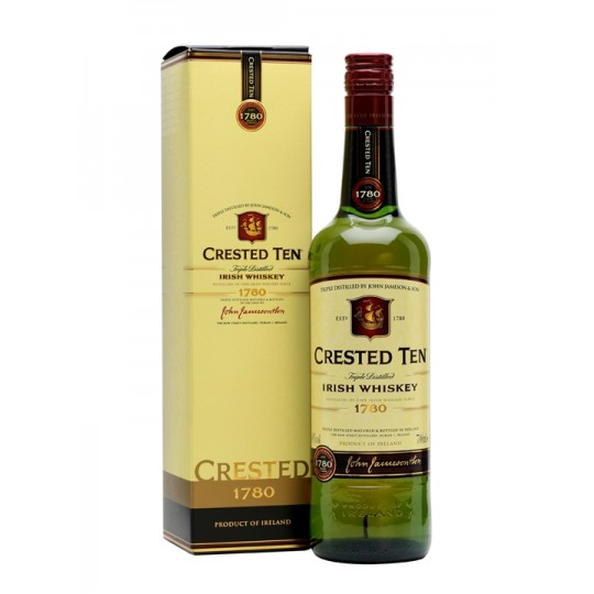 Crested Ten Irish Whisky - 70 cl.