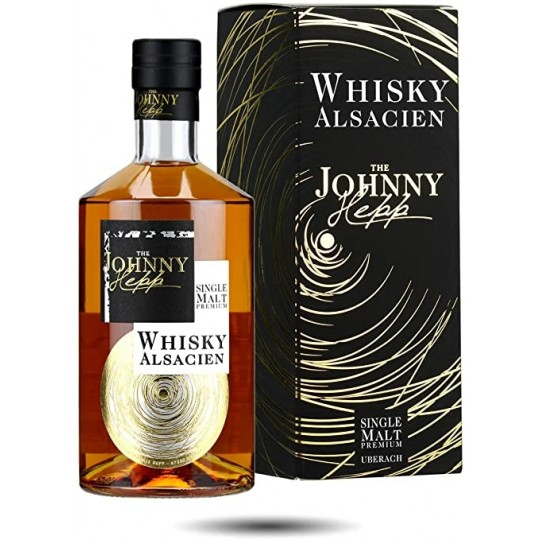 The Johnny Hepp, Single Malt Premium Whisky Alsacien, Franța -70 cl