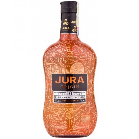 Jura Origin 10 ani, Tattoo Edition, Single Malt Scotch Whisky, Regatul Unit- 70 cl