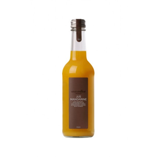 Alain Milliat suc natural de mandarine, Franța - 33 cl.