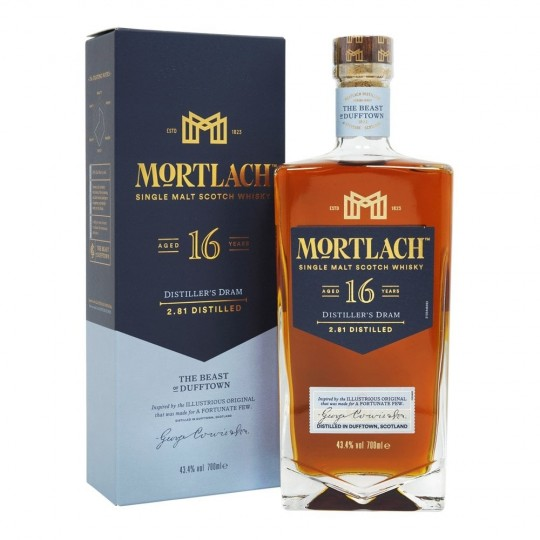Mortlach 16 ani, Single Malt Scotch Whisky, Regatul Unit- 70 cl
