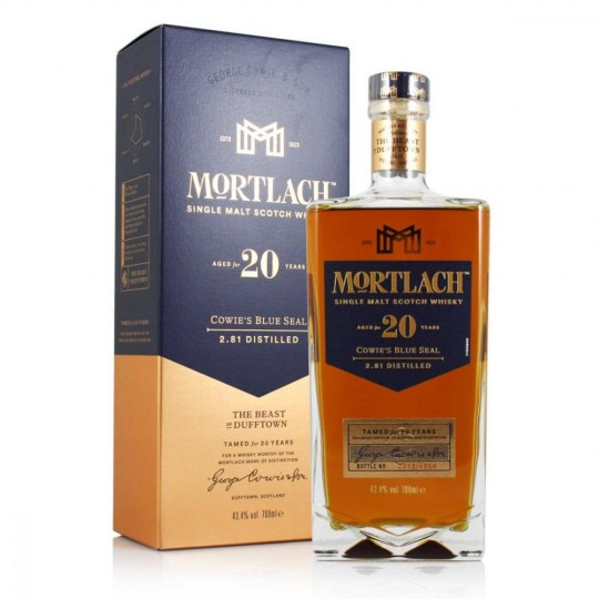 Mortlach 20  ani, Single Malt Scotch Whisky, Regatul Unit- 70 cl