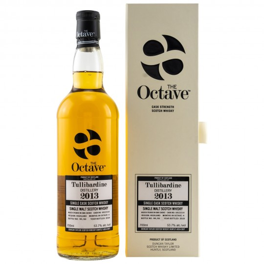The Octave 2013, Tullibardine Distillery, Single Malt Scotch Whisky, Regatul Unit- 70 cl