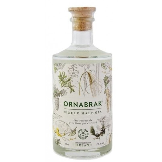 Ornabrak, Single Malt Gin, Irlanda - 70 cl.