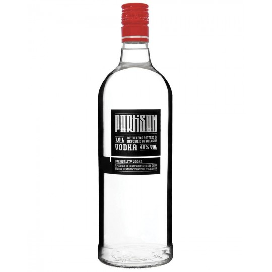 Partisan, Lux Quality Vodka, Belarus - 100 cl.