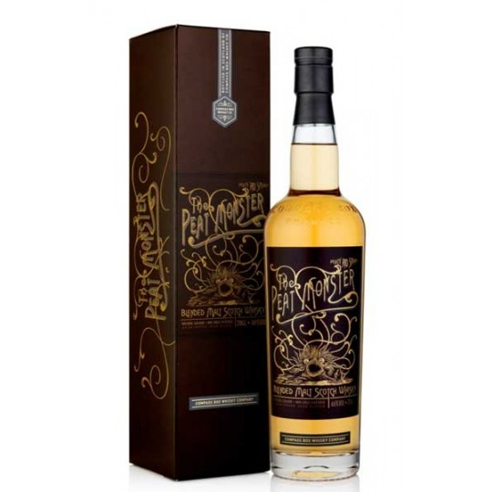 The Peat Monster Blended Malt Scotch Whisky - 70 cl.
