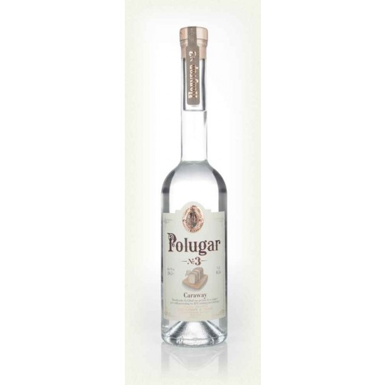 Polugar No 3 Caraway Vodka, Polonia - 50 cl.