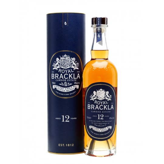 Royal Brackla 12 years Highland Single Malt Scotch Whisky - 70 cl.