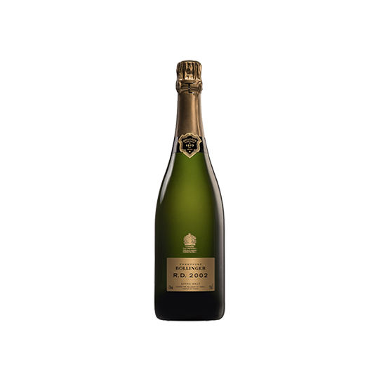 Champagne Bollinger R.D. 2002, AOC Champagne, Franța - 75 cl.