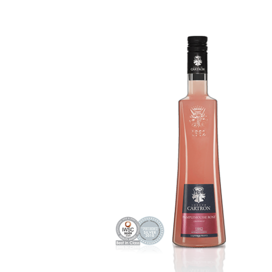 Joseph Cartron lichior de grapefruit rose - 700 ml.