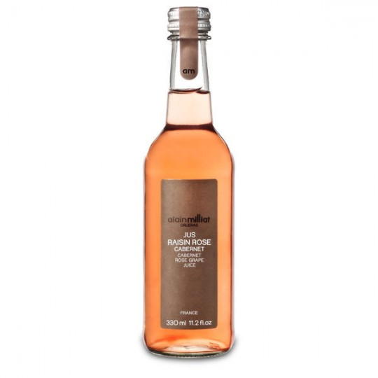Suc natural de struguri rose Cabernet Alain Milliat 33 cl
