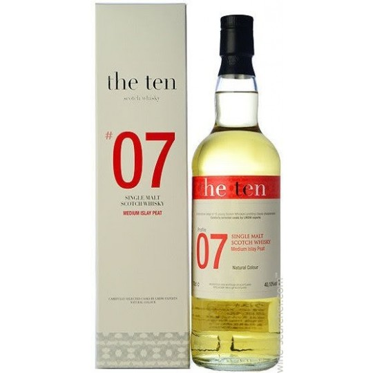 The Ten 2002 No 7 Single Malt - 70 cl.