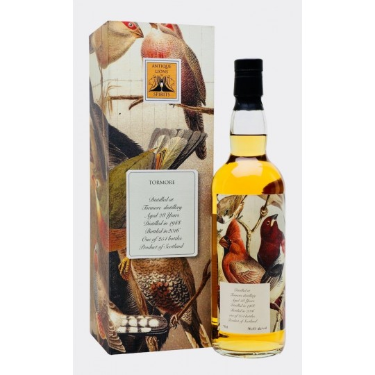 Antique Lion's of Spirits 28 ani, Tormore Distillery, Single Malt Scotch Whisky, Regatul Unit- 70 cl