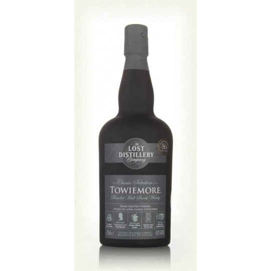 Towiemore Classic Selection, The Lost Distillery Company, Blended Malt Scotch Whisky, Regatul Unit- 70 cl