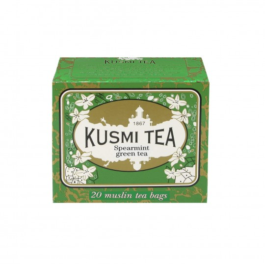 Ceai Kusmi Spearmint Green Tea - 20 pliculeţe